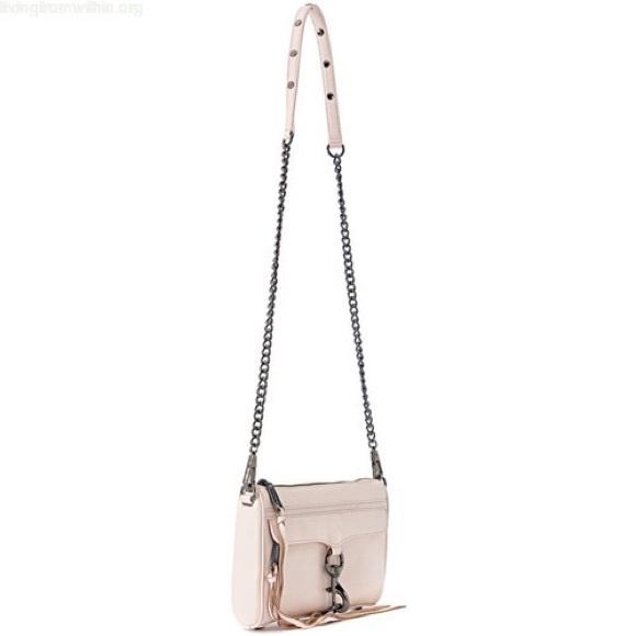 Rebecca Minkoff Handbags - NWT REBECCA MINKOFF • Blush Mini MAC Crossbody Bag